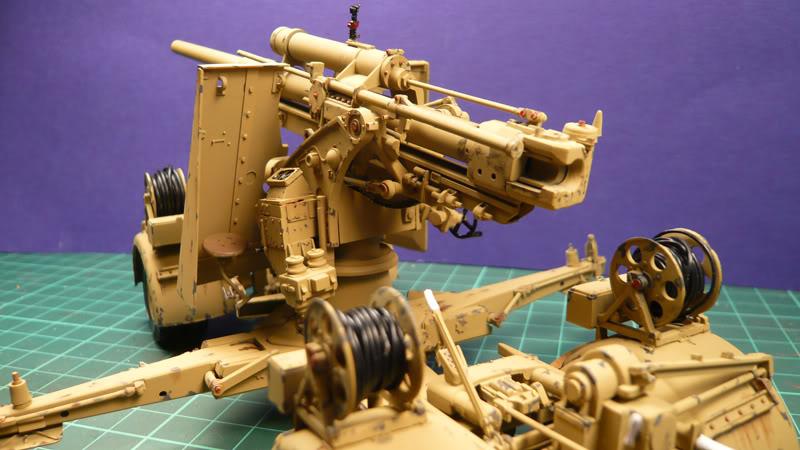 88mm Gun Flak 37 - [TAMIYA  1:35] - 10/03/09 - mise en place et Diorama... Flak_37_02015-1