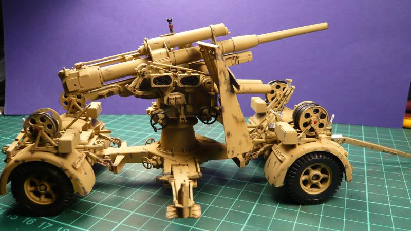 88mm Gun Flak 37 - [TAMIYA  1:35] - 10/03/09 - mise en place et Diorama... Flak_37_02020-1