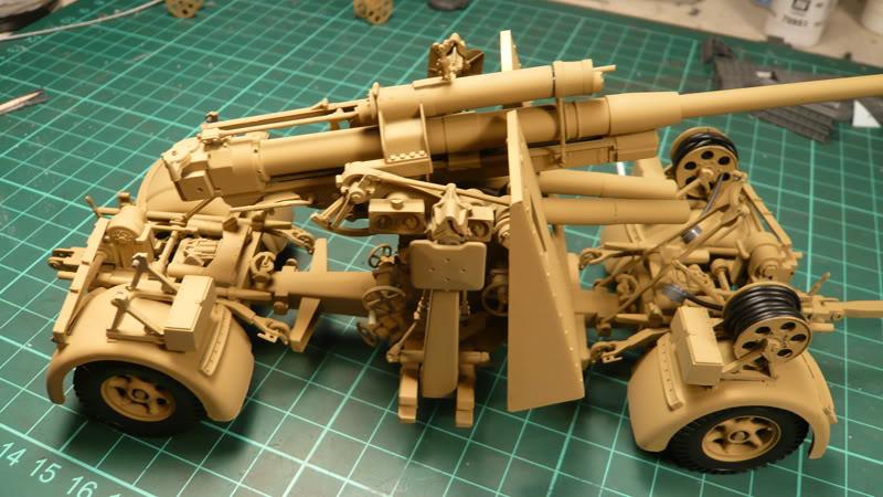 88mm Gun Flak 37 - [TAMIYA  1:35] - 10/03/09 - mise en place et Diorama... Flak_37_02020