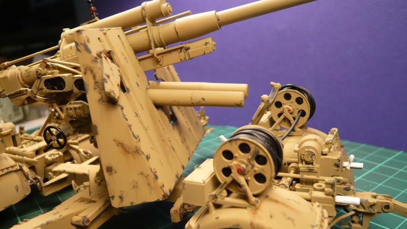 88mm Gun Flak 37 - [TAMIYA  1:35] - 10/03/09 - mise en place et Diorama... Flak_37_02021-1