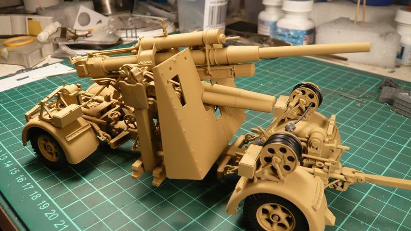88mm Gun Flak 37 - [TAMIYA  1:35] - 10/03/09 - mise en place et Diorama... Flak_37_02021