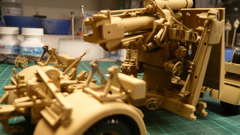 88mm Gun Flak 37 - [TAMIYA  1:35] - 10/03/09 - mise en place et Diorama... Flak_37_02023