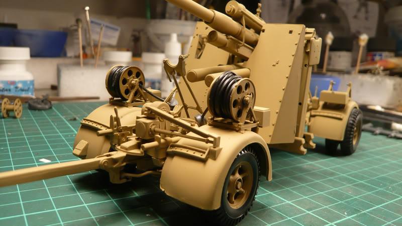 88mm Gun Flak 37 - [TAMIYA  1:35] - 10/03/09 - mise en place et Diorama... Flak_37_02024