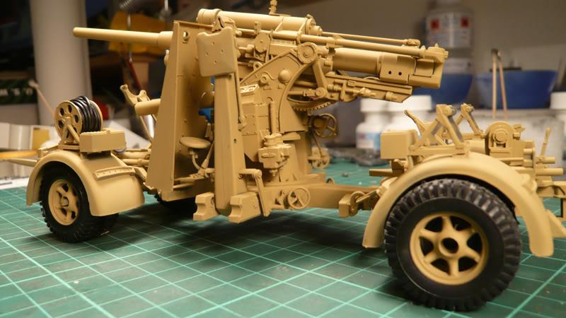 88mm Gun Flak 37 - [TAMIYA  1:35] - 10/03/09 - mise en place et Diorama... Flak_37_02025
