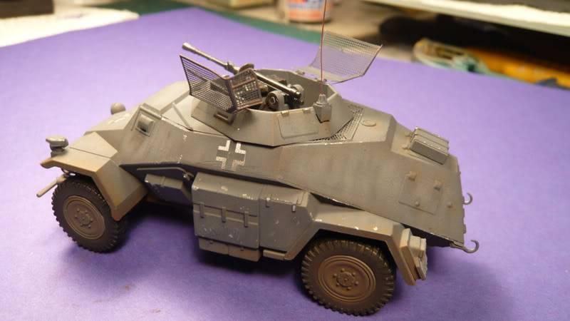 SDKFZ 222 Armoured car   [Tamiya/ICM 1:48 ] Sdkfz_222003