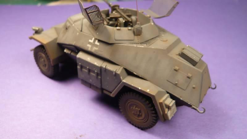 SDKFZ 222 Armoured car   [Tamiya/ICM 1:48 ] Sdkfz_222006