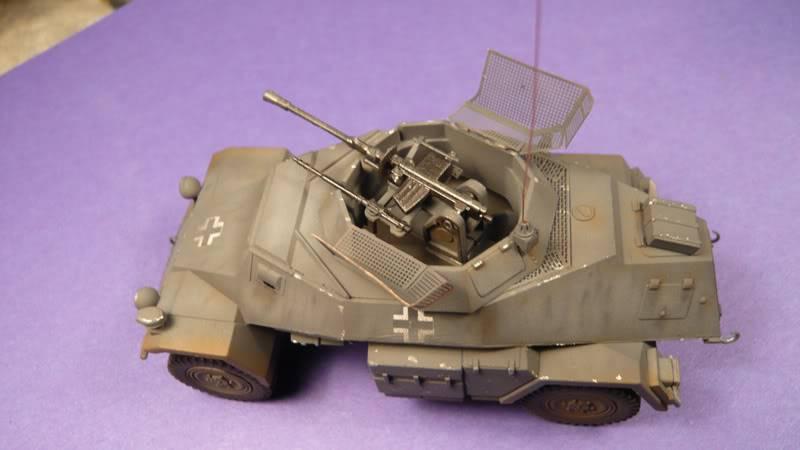 SDKFZ 222 Armoured car   [Tamiya/ICM 1:48 ] Sdkfz_222007