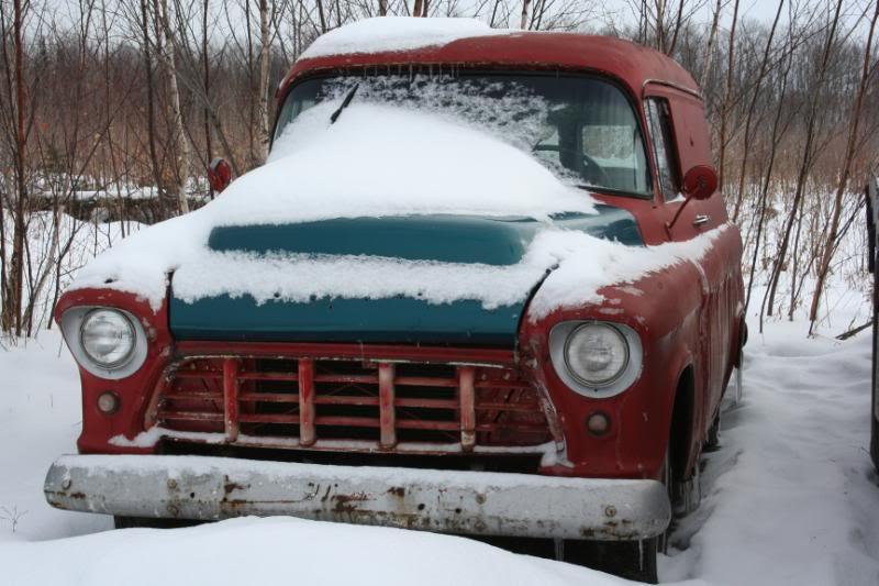 My Frozen 1957 Chevy Panel Van IMG_0395