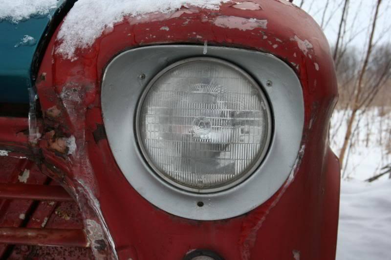 My Frozen 1957 Chevy Panel Van IMG_0396