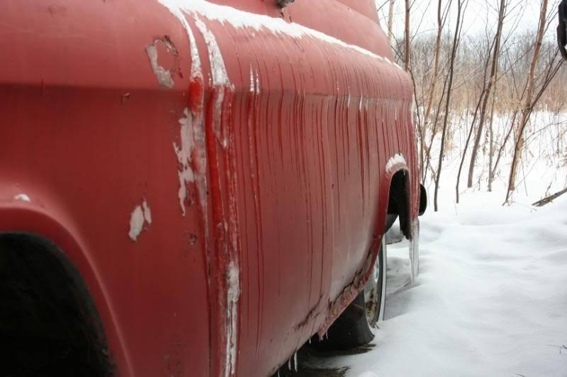 My Frozen 1957 Chevy Panel Van IMG_0398