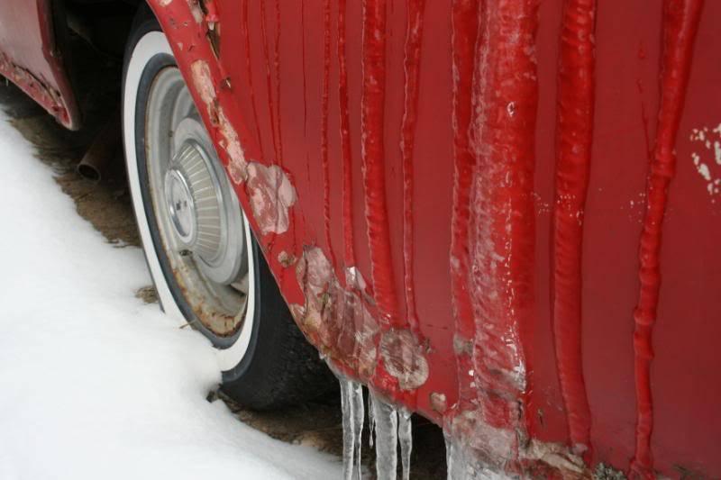 My Frozen 1957 Chevy Panel Van IMG_0405