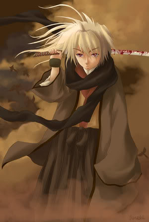 "Jinsoku ""Akuma"" Nakamura Samurai_by_damashii"