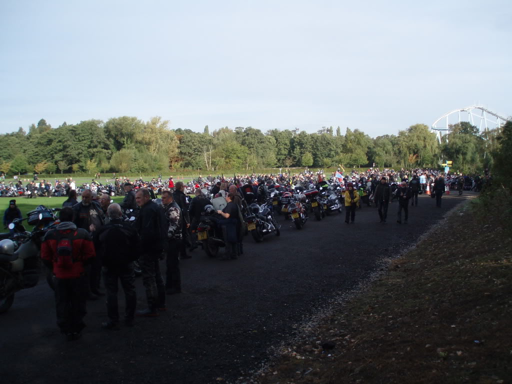 Ride To The Wall 2010 - One of my journeys. Central UK PA020110