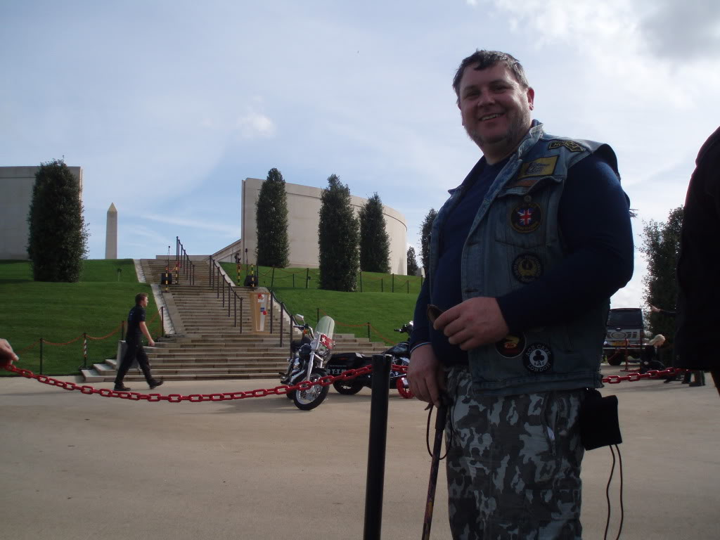 Ride To The Wall 2010 - One of my journeys. Central UK PA020122