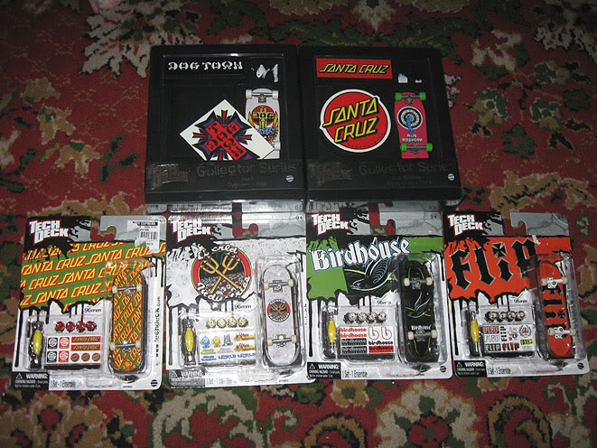 Tech Deck Collection Post