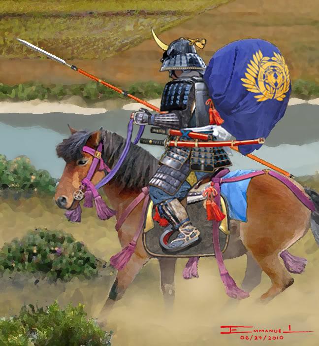 DATE Masamune (1567-1636) & Fils DATETsukaibanHORO2