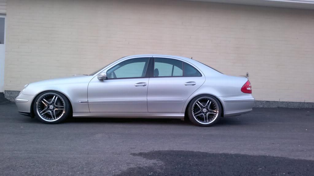 Mercedes w211 e320 benzin 06042011166