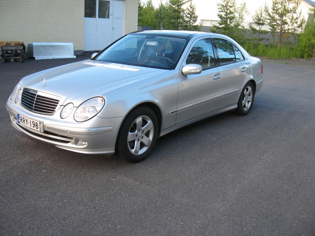 Mercedes w211 e320 benzin IMG_1255