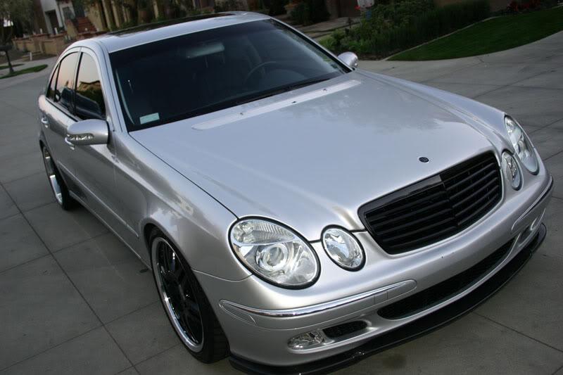 Mercedes w211 e320 benzin Frontlip