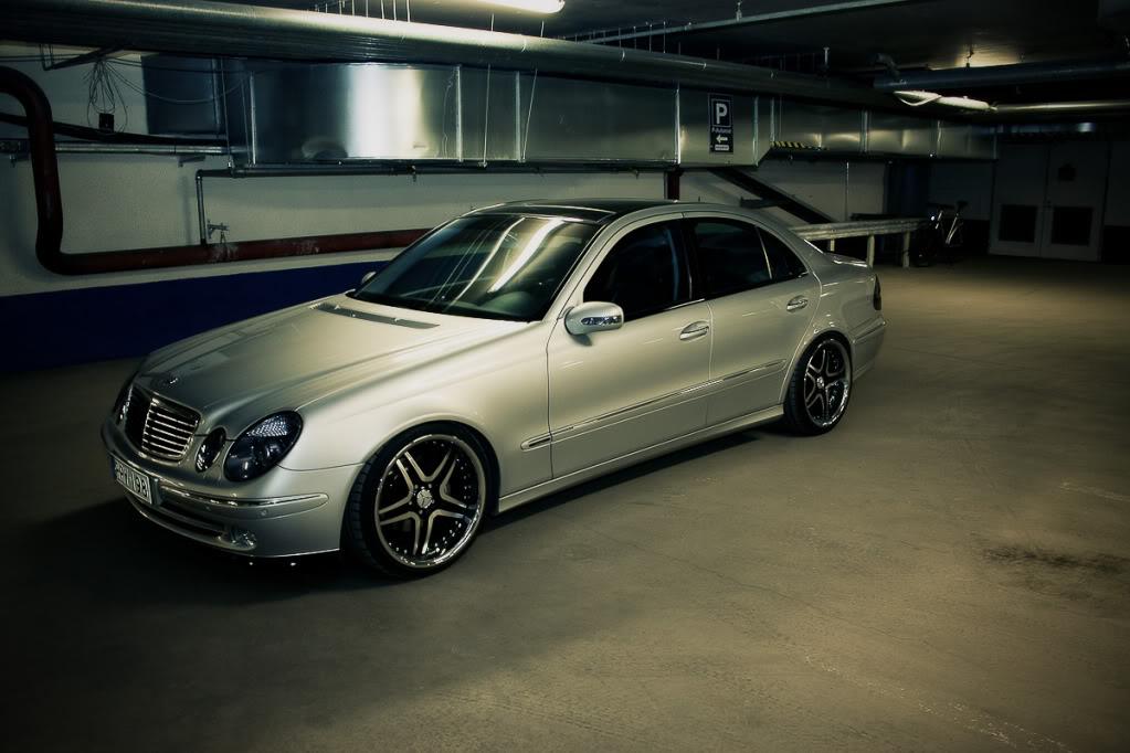 Mercedes w211 e320 benzin Testi1of1-2