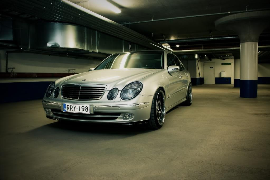 Mercedes w211 e320 benzin Testi1of1-4