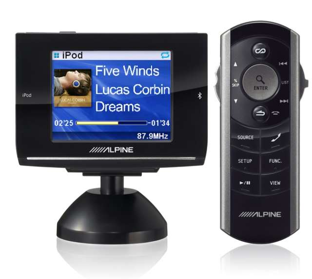 Bluetooth and iPod controller from ALPINE ALPINE-EX10