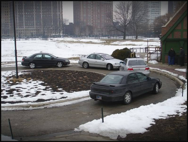 Cadillac Catera Owners MEET Chicago FEB 20th PICTURES DSC05182