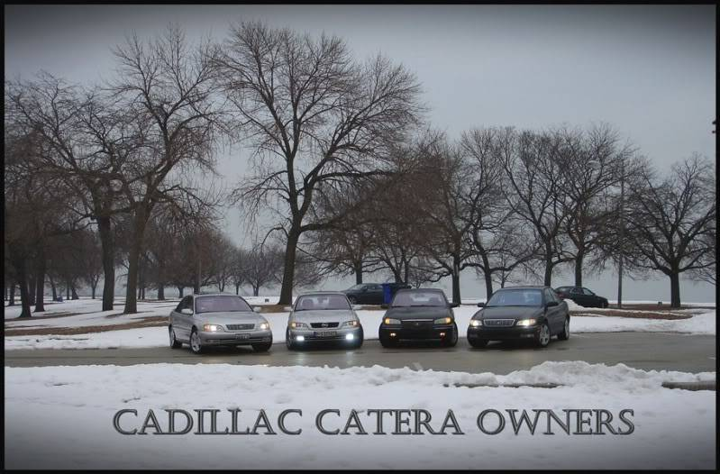 Cadillac Catera Owners MEET Chicago FEB 20th PICTURES DSC05217