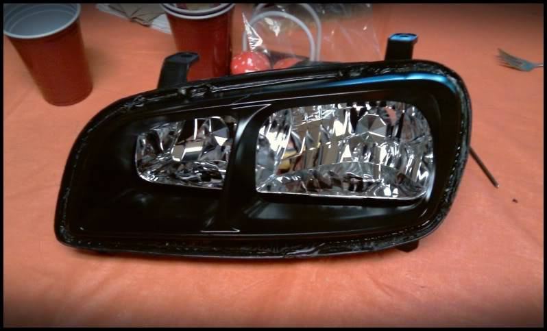 Spare Car Upgrade:  Its a RAV4, now with HIDs. IMAG0249