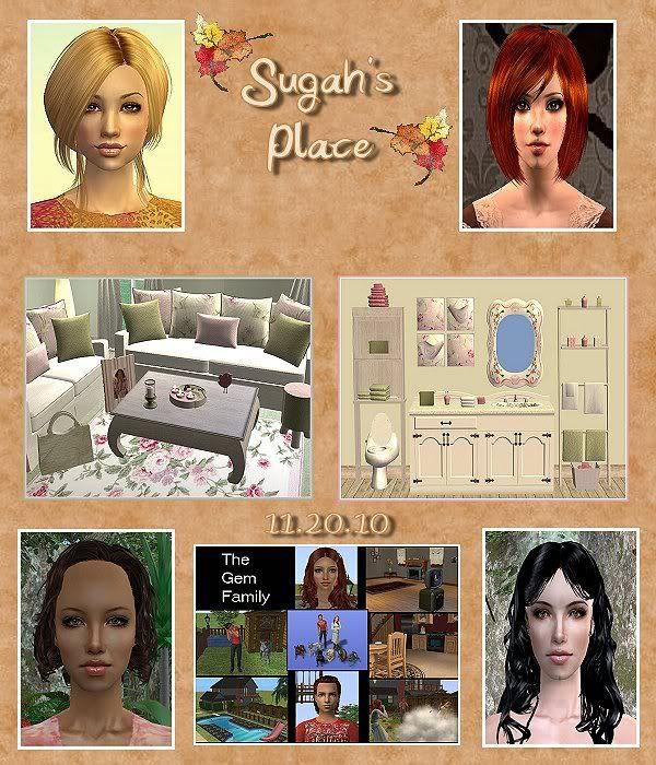 Sugah's Place - 11.20.10 Update 112010_Update