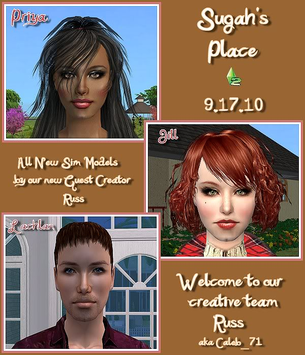 Sugah's Place Update - 9.17.10 - Welcome Russ to the Team! 91710_Update