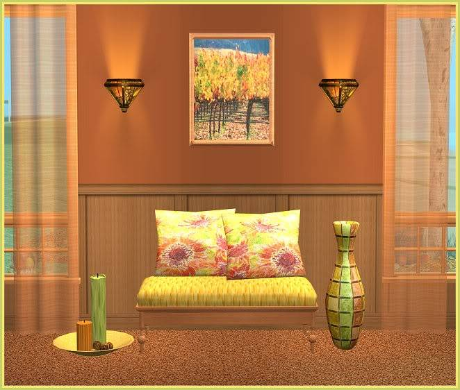 Autumn Inspired Entry Way and Gray Zoology Kids' Bedroom @ Inspiring Sims AutumnInspired-for-InspiringSims