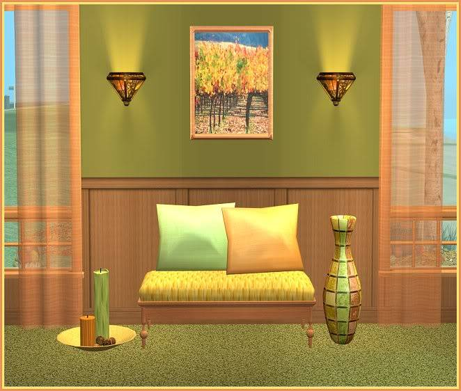 Autumn Inspired Entry Way and Gray Zoology Kids' Bedroom @ Inspiring Sims AutumnInspired-for-InspiringSims2
