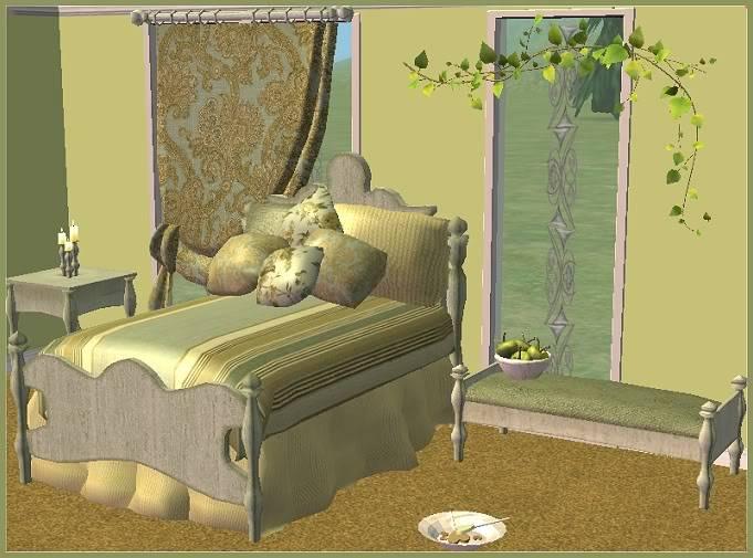 Casa di Fiori Romantic Bedroom @ Basic...for Sims CasadiFiore_HunterGift