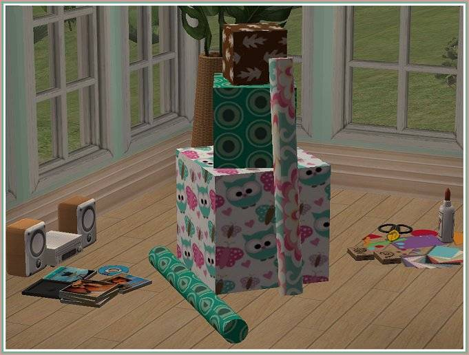 Gift Boxes w/ Wrapping Paper @ Sim Fans UK GiftWrap-ForSFU_zps62584c07