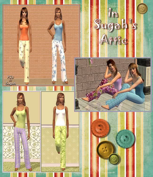 In Sugah's Attic at Inspiring Sims - A Collection of Slightly Used Goodies ;) InSugahsAttic-Pg1