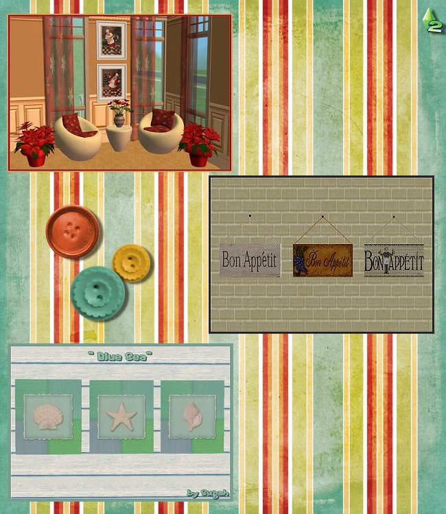 In Sugah's Attic at Inspiring Sims - A Collection of Slightly Used Goodies ;) InSugahsAttic-Pg4