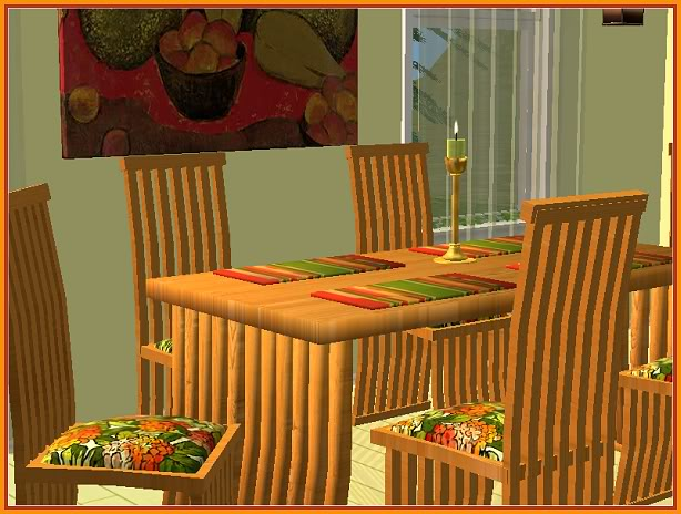 Mango Infusion Dining Room @ Basic...for Sims MangoInfusion-closer_Hunter