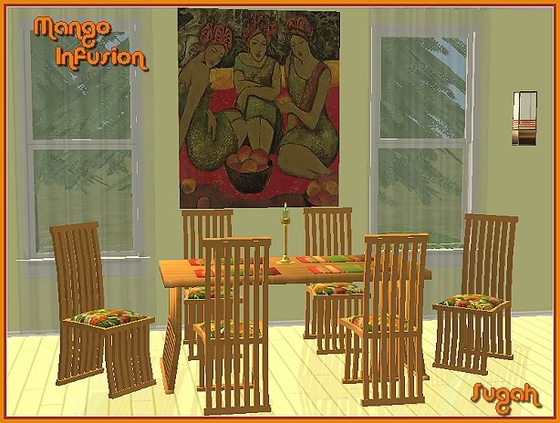 Mango Infusion Dining Room @ Basic...for Sims MangoInfusion_Hunter