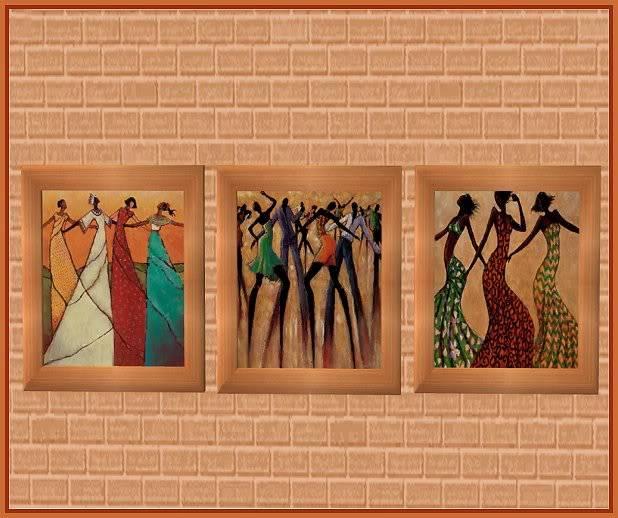 Monica Stewart Art Trio @ Basic...for Sims MonicaStewart1_Hunter