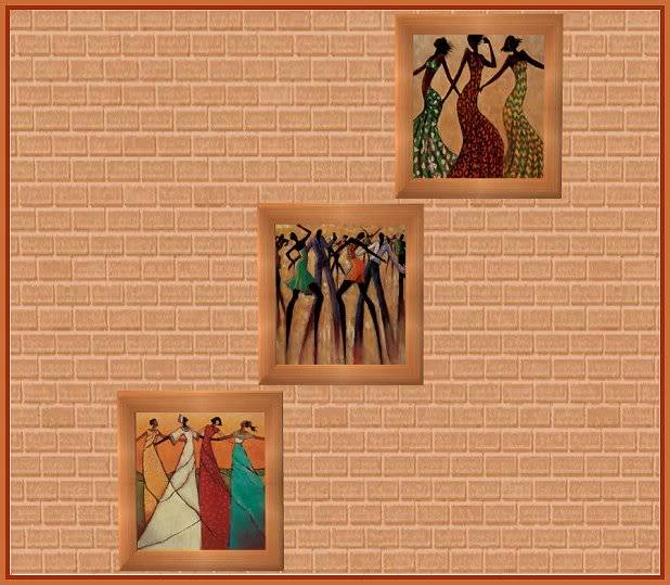 Monica Stewart Art Trio @ Basic...for Sims MonicaStewart2_Hunter