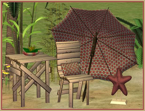 Ramshackled Beach Set @ Basic ... for Sims RamshackledBeachSet-Hunter