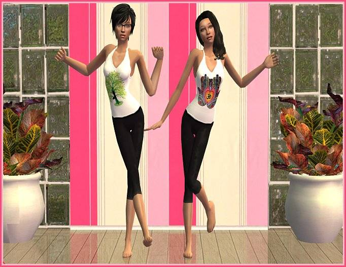 Sugah's Place is celebrating our Senior and Teen Sims! TeenYogaOutfits2_zps5bc6569a