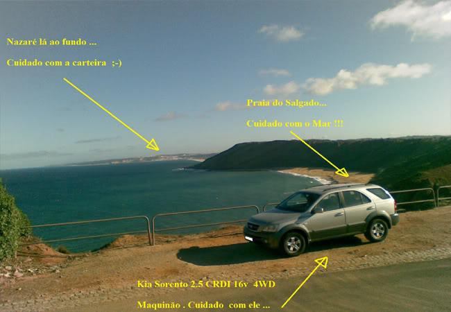 Kia Sorento 2.5 CRDI 16v 4WD EX Top  - O frigorifico grande do Amalucado 08_Praias