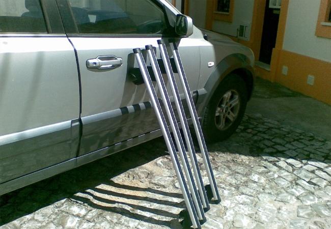Kia Sorento 2.5 CRDI 16v 4WD EX Top  - O frigorifico grande do Amalucado Misc_06