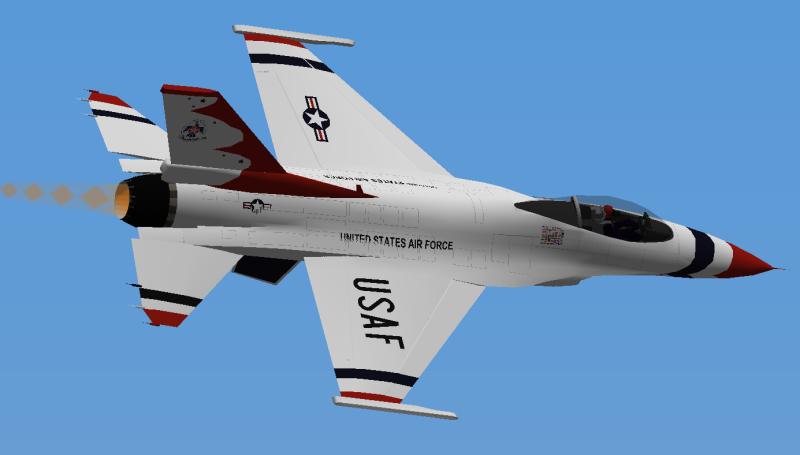 USAF Thunderbird Thunderbird1
