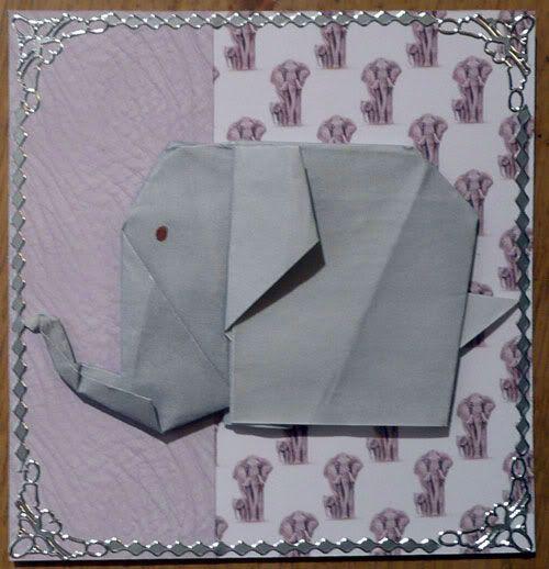 Origami anyone Elephant-origami