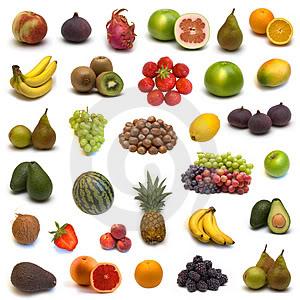 Vector: Frutas y Verduras Frutas