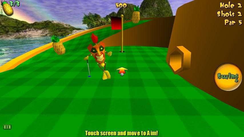 [JEU] TIKI GOLF 3D : Mini golf aventure [Démo/Payant] TikiGolf3D