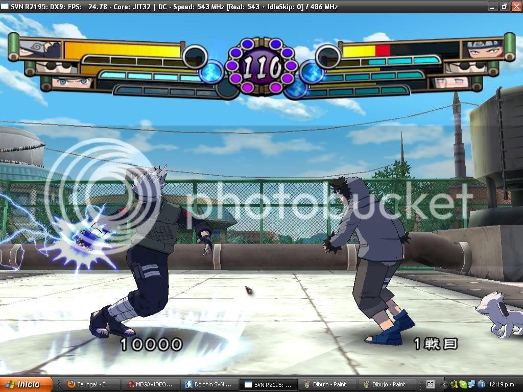 Naruto juego para pc Rasengan